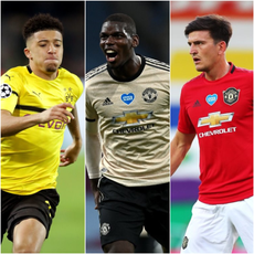 Where does Jadon Sancho sit on list of Manchester United's most expensive buys?