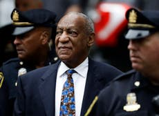 Watch the people celebrating Bill Cosby's release carefully