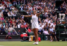 Aryna Sabalenka 'proud' after beating Katie Boulter on Centre Court debut