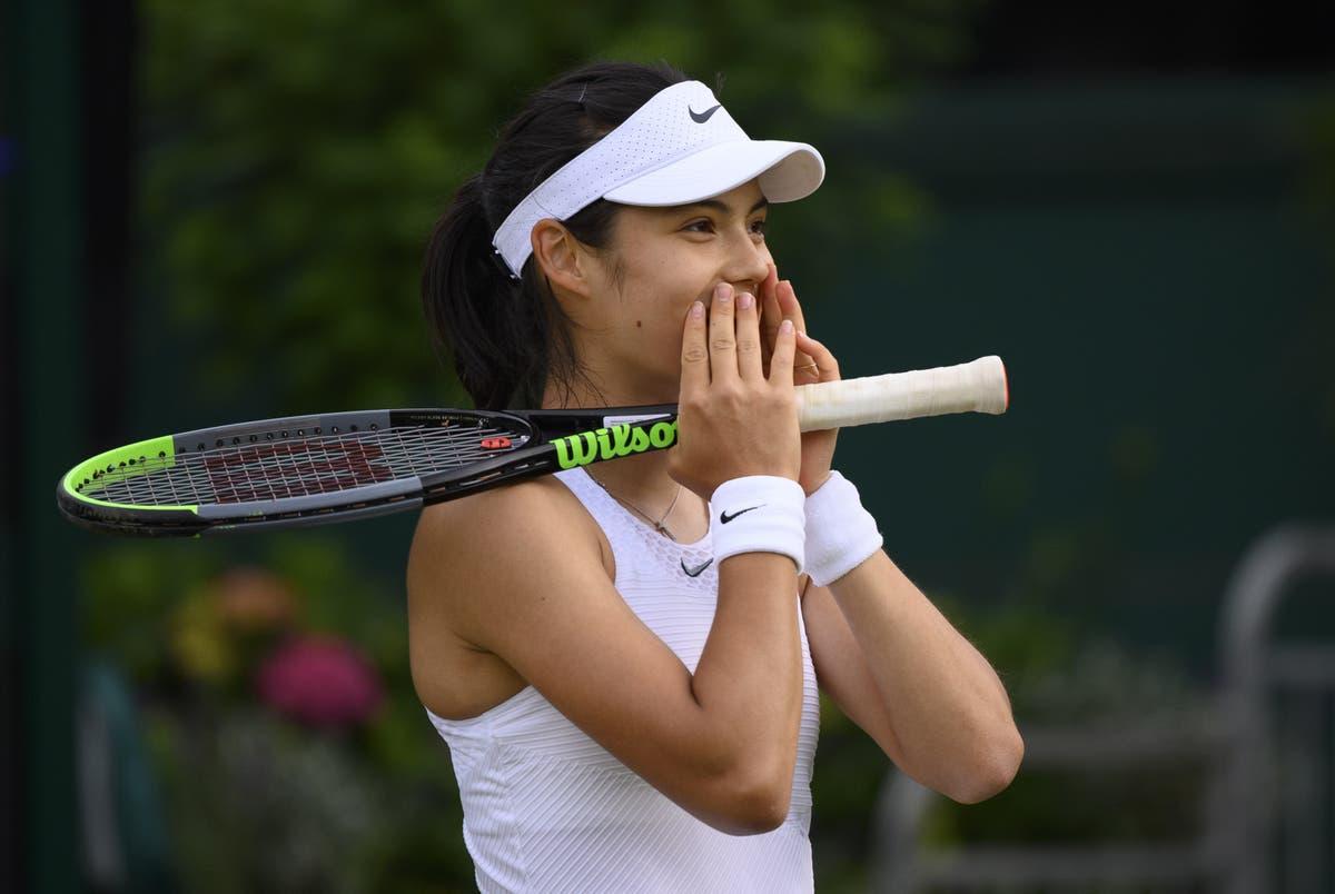Emma Raducanu describes debut Wimbledon win as 'surreal'