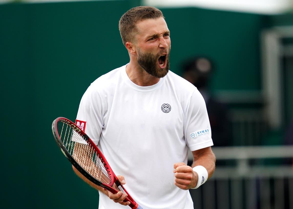 Liam Broady satser på å nå toppen 100 etter å ha kjempet Wimbledon-nederlaget