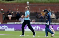 Kate Cross full of praise for England's record-breaking sixth-wicket partnership