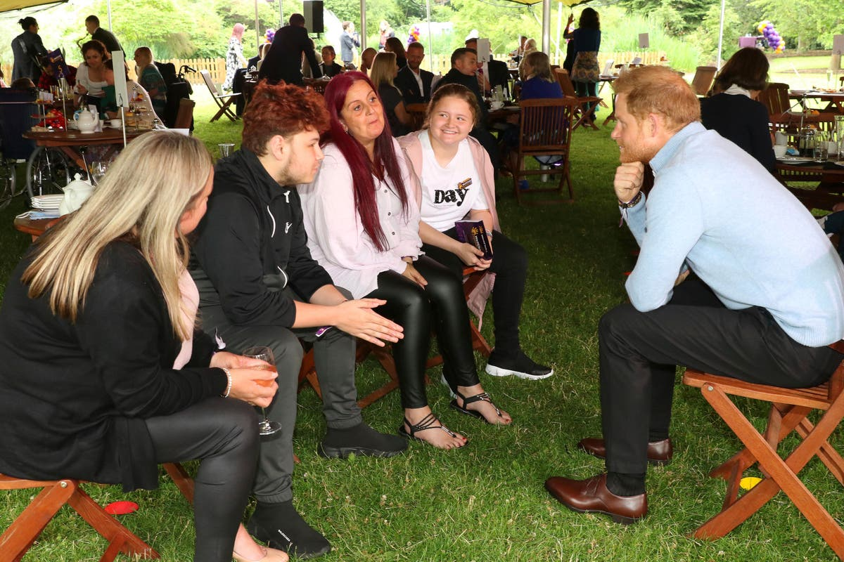 Prince Harry pays surprise visit to London charity event