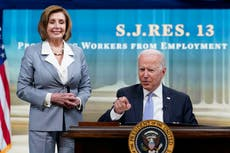 Biden signs three bills to overturn Trump-era rules