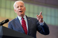 Biden behind on global vaccine sharing, cites local hurdles