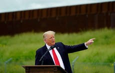 Donald Trump says migrants cause 'incalculable' damage to US in exaggeration-filled border event