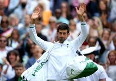 Novak Djokovic and Andy Murray progress to the third round at Wimbledon
