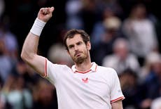 Andy Murray win tops off successful day for British contingent at Wimbledon