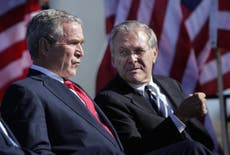 Donald Rumsfeld's policies have consequences that still reverberate