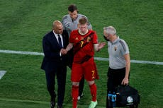 Euro 2020 matchday 21: Battle of the big guns as Belgium prepare to face Italy