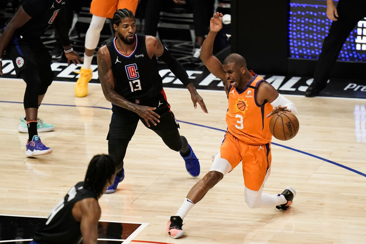 Phoenix Suns canter into NBA Finals with defeat of Los Angeles Clippers