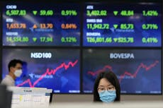 Asian shares mostly decline ahead of watched US jobs report