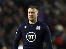 Stuart Hogg named British and Irish Lions captain for opening tour match
