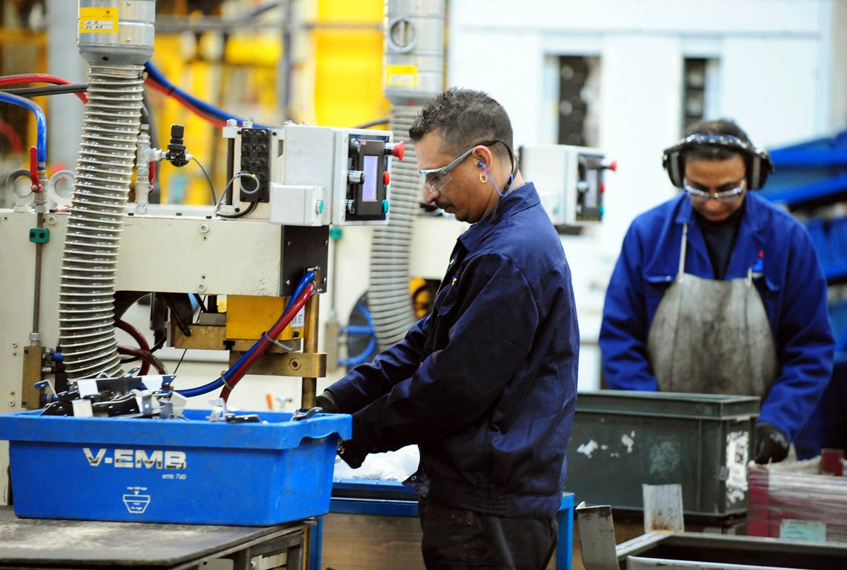 Factories 'beset' by supply chain troubles as activity eases from record highs
