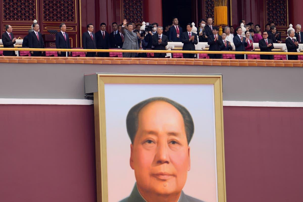 Photos de l'AP: Pékin, Hong Kong fête le centenaire du Parti communiste
