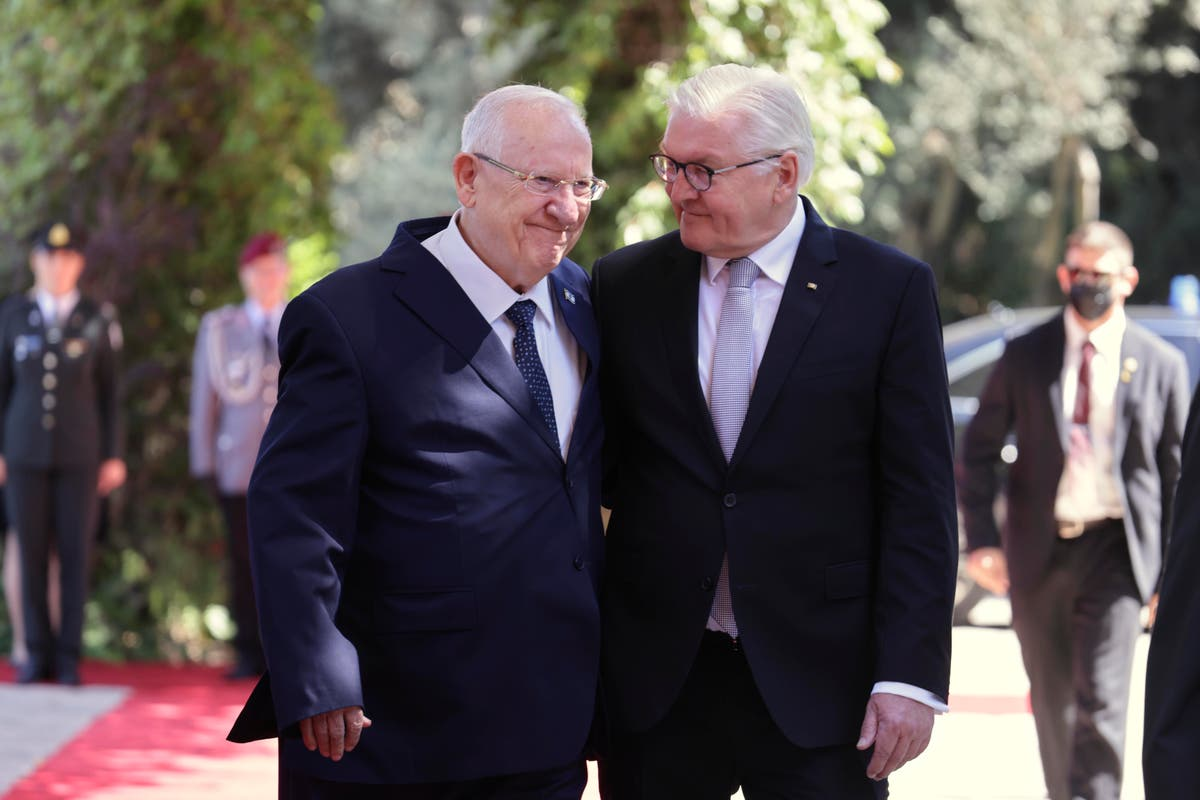 Israel welcomes German leader as ally against antisemitism