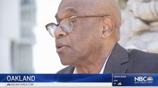 News crew victim of attempted robbery while interviewing crime prevention chief in Oakland