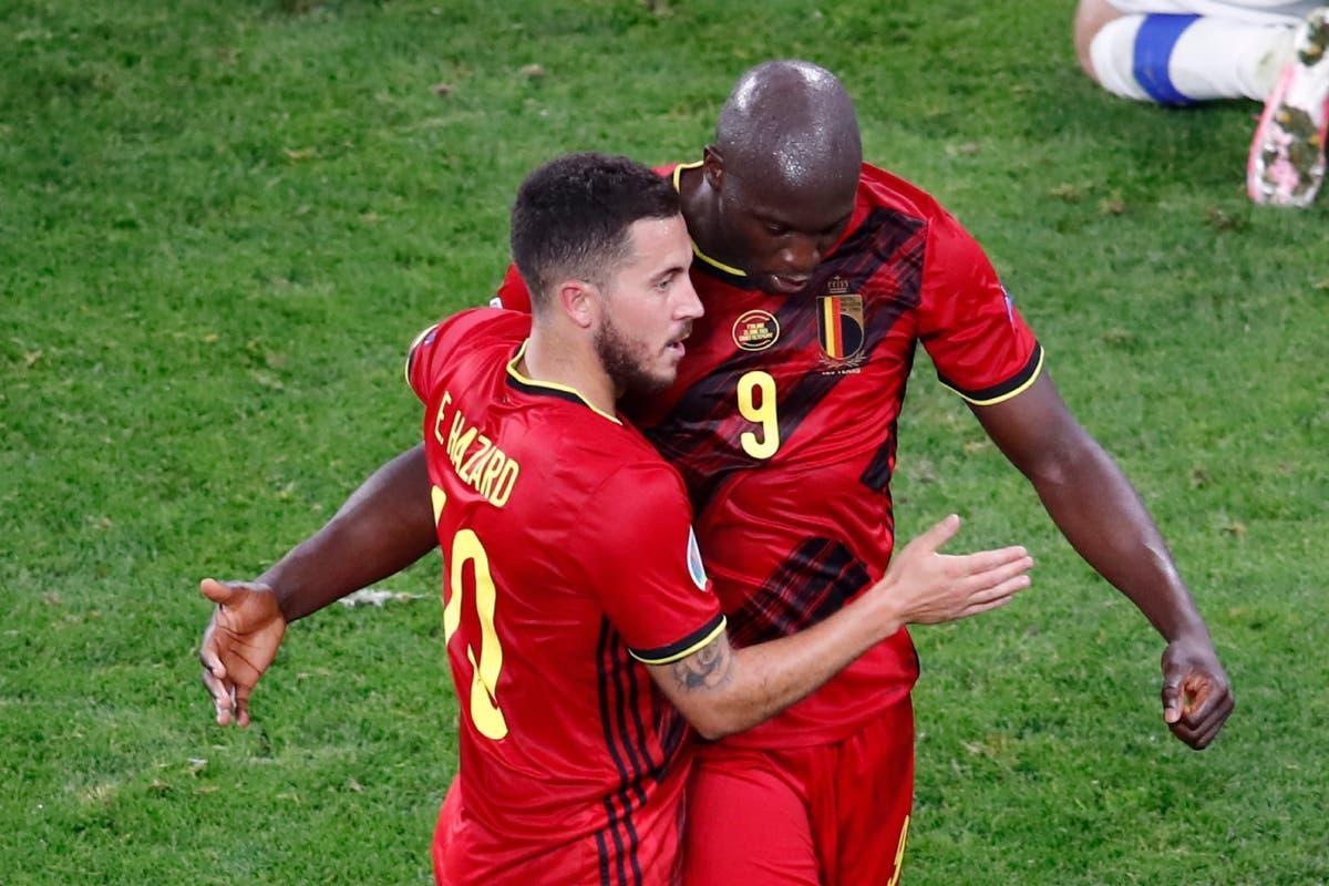 Romelu Lukaku and Eden Hazard to miss Italy play-off through injury