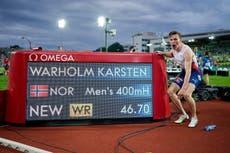 Norway's Karsten Warholm breaks 29-year-old 400m hurdles world record