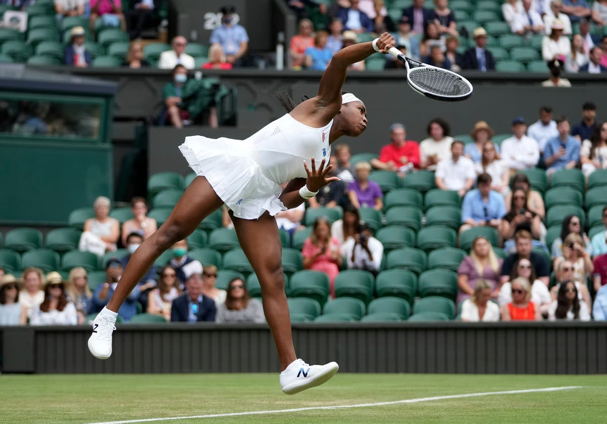 Back at Centre Court, Coco Gauff impresses Dad with poise