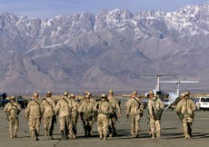 US and Nato forces leave Bagram base in historic handover after 20 years of war in Afghanistan