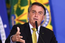 Brazil's Bolsonaro won't hand over presidency if there is 'vote fraud'