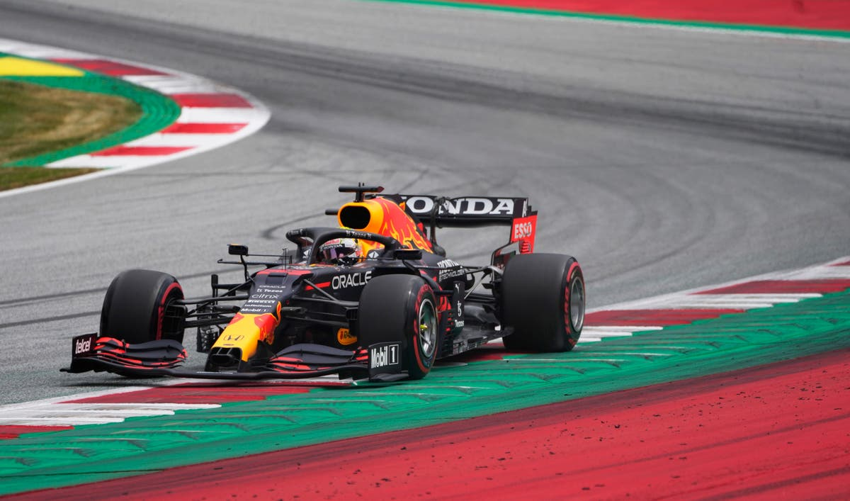 Max Verstappen continues dominance in Austria after topping first practice
