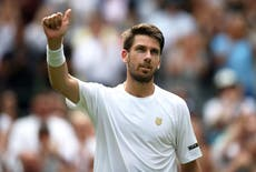 Cameron Norrie backed to give Roger Federer a real test in Wimbledon third round