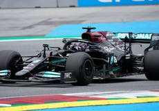 Lewis Hamilton delivers title boost by topping second practice in Austria