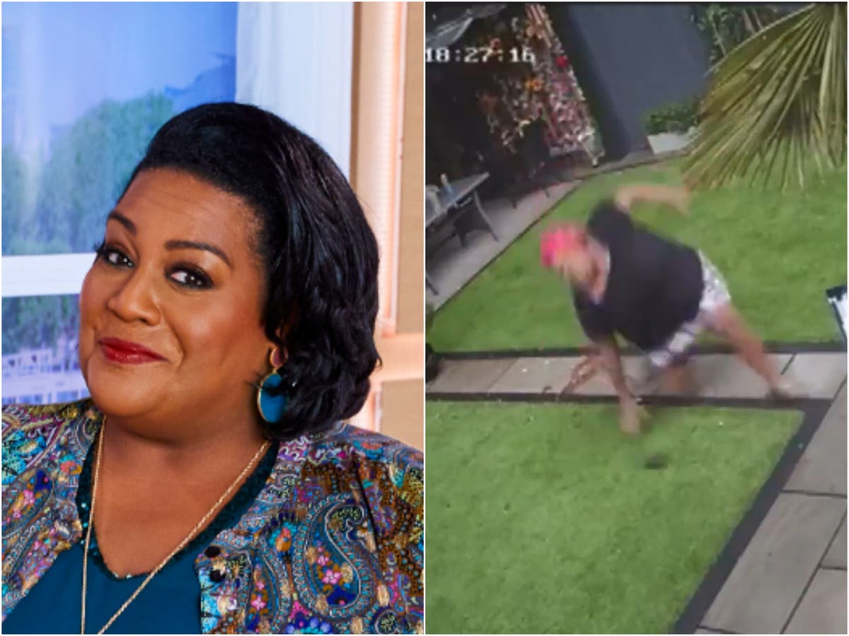 CCTV footage captures This Morning presenter Alison Hammond's 'awful' fall