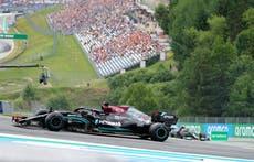 Lewis Hamilton fastest in second practice for Austrian Grand Prix