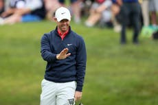 Rory McIlroy unable to reduce deficit as Lucas Herbert holds Irish Open lead