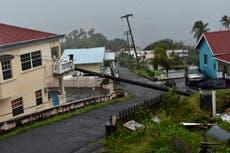 Hurricane Elsa races toward Haiti amid fears of landslides