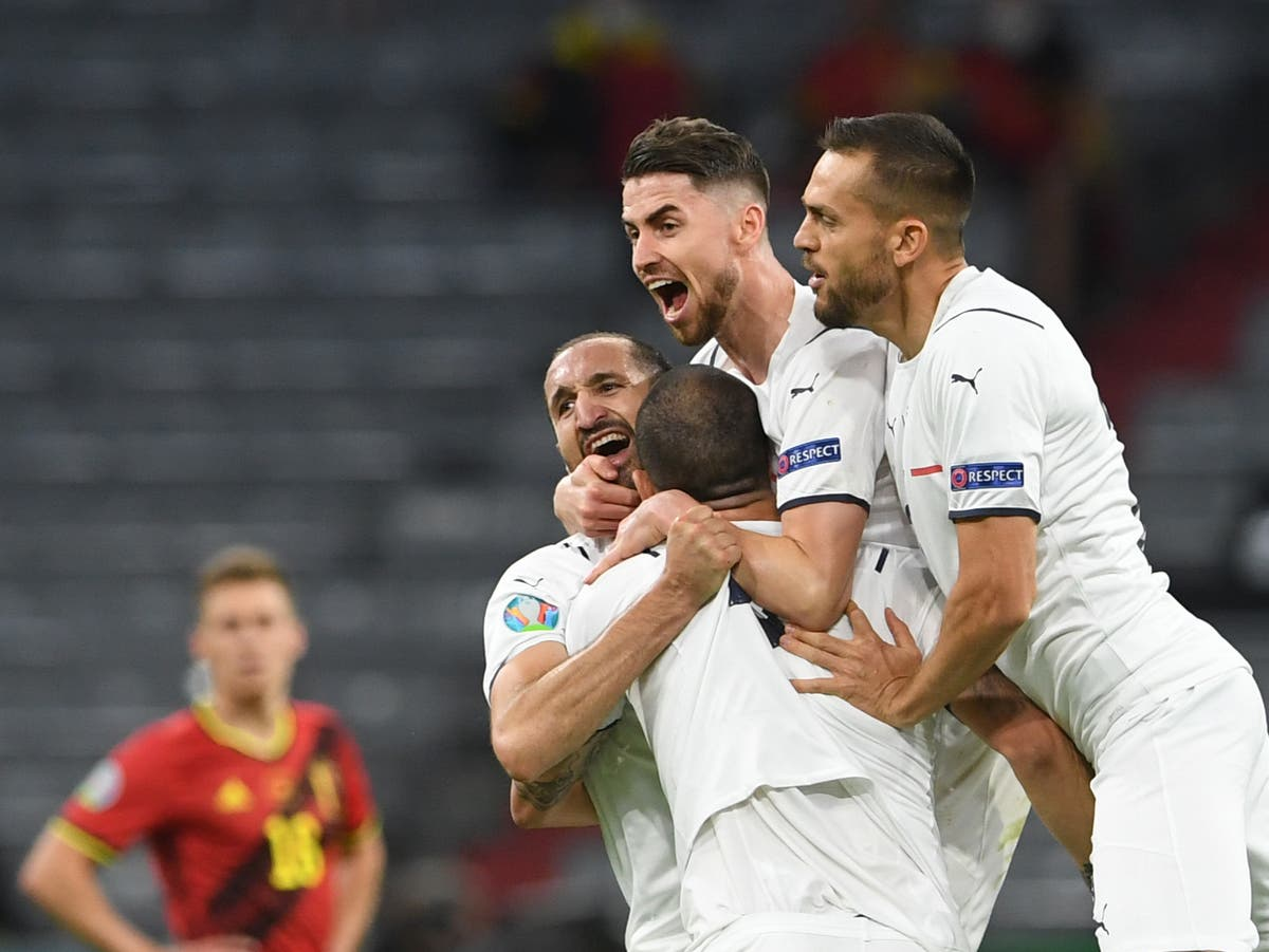 Italy lean on rich heritage with time running out for Belgium's golden generation