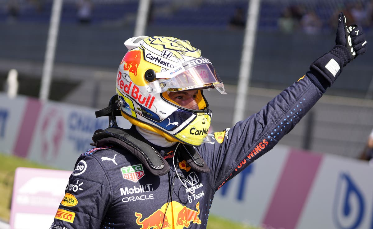 Max Verstappen on pole again for Austrian Grand Prix with Lando Norris second