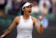 Emma Raducanu: 18-year-old waiting for A-Level results lighting up Wimbledon