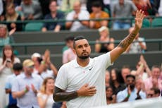 Nick Kyrgios 'devastated' to bow out of Wimbledon prematurely due to injury