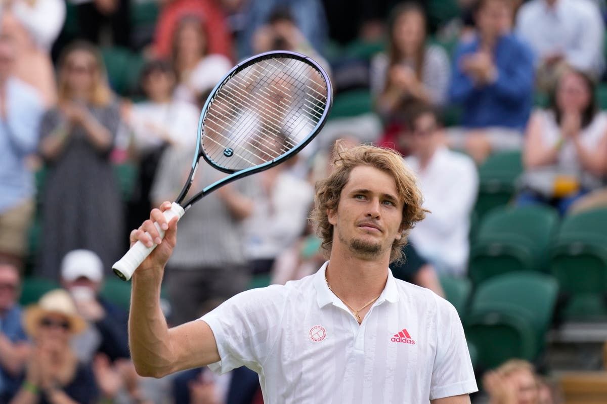 Alexander Zverev revendique la victoire pour atteindre le quatrième tour à Wimbledon