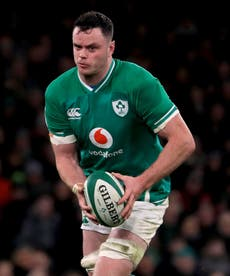 James Ryan thanks physios for getting him ready to captain Ireland