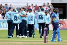 Tom Curran brille mais la pluie prive l'Angleterre d'une chance de 6-0 badigeonner le Sri Lanka