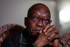 South Africa's highest court dismisses Jacob Zuma's bid to overturn jail sentence