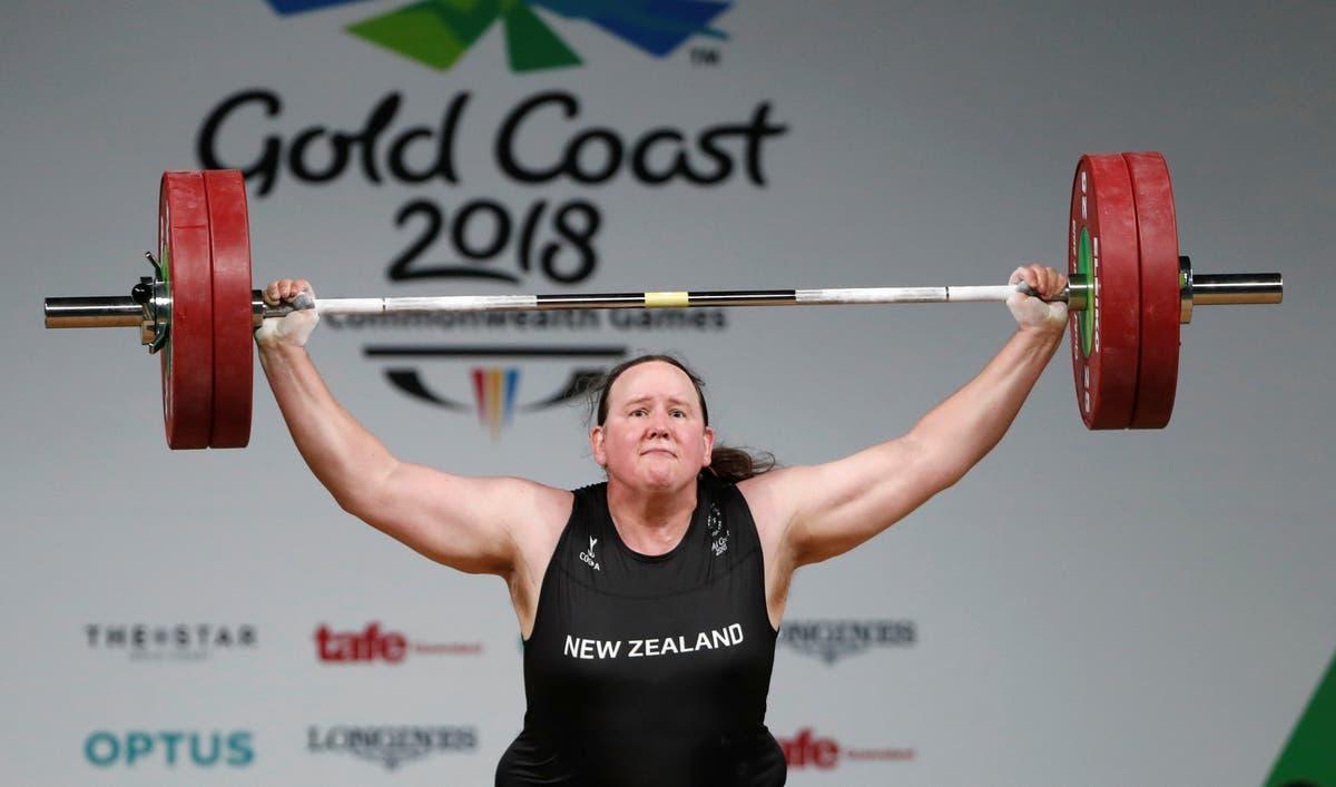 Who is transgender weightlifter Laurel Hubbard?