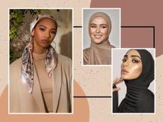 Hijab-stiler for bryllup og spesielle anledninger: From chiffon to silk