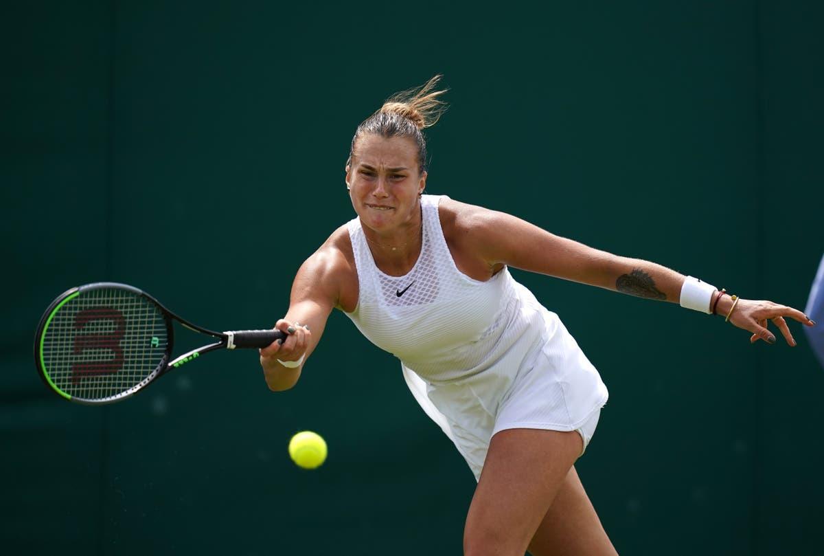 Aryna Sabalenka beats Elena Rybakina to reach maiden Grand Slam quarter-final at Wimbledon