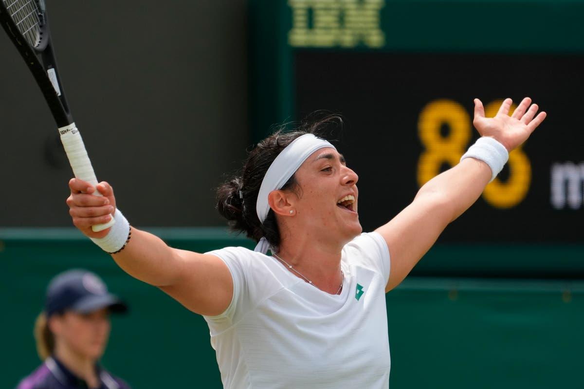 Ons Jabeur kyk na die Wimbledon-eindstryd terwyl droomloop voortgaan met die oorwinning oor Iga Swiatek