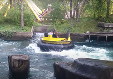 11-year-old dies after raft flips over on Raging River ride at Adventureland