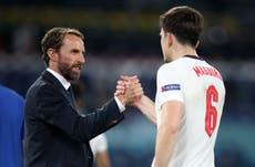Euro 2020: Harry Maguire bedank Gareth Southgate vir ondersteuning te midde van oproepe om 'n nuwe Engelse afrigtingsooreenkoms te bewerkstellig