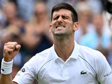 Wimbledon: Novak Djokovic will not be distracted by thoughts of making history