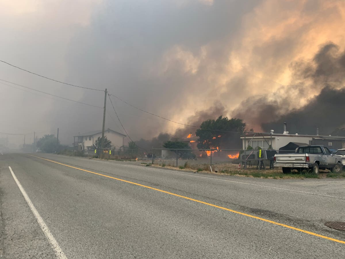 'We were neglected': Residents of British Columbia town decimated by fire call for accountability after fire that destroyed town
