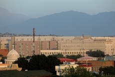 After troops exit, safety of US Embassy in Kabul top concern